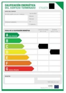 Certificado de Eficiencia Energética Vivienda